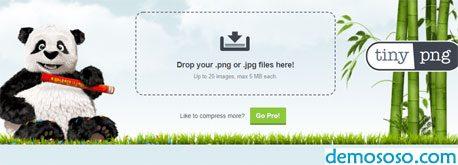 使用tinypng.com在线压缩图片