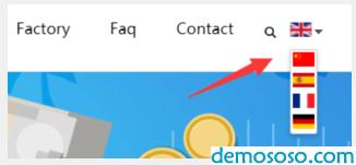 DM系统多语言网站建设