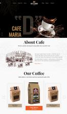 mb005 甜品茶餐厅官网网站模板